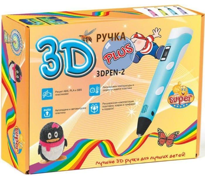 3D РУЧКА SUPER 3D PEN 2 PLUS