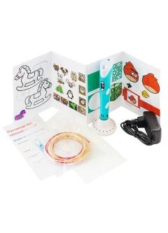 3D ручка SUPER 3D PEN 2 PLUS (трафареты + коврик)